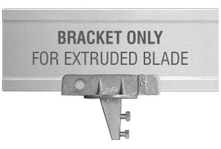 U-Channel Post 90 Degree Extruded Blade Street Name Sign Bracket