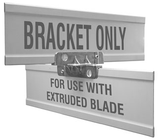 Cross Separator For Extruded Blade Street Name Sign