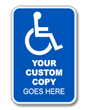 Custom Handicapped Parking Violators Fined