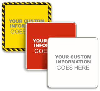Custom Square Traffic Signs