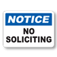 Effective No Soliciting Signs for Your Home