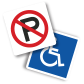 Large Selection of Parking Signs Accessories