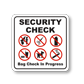 Best Selection of Checkpoint Signs