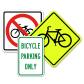 Large Selection of Bicycle Signs