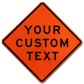 Easy to Customize Road Work Area Signs