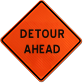 Job Site Ready Roll Up Traffic Control Signs
