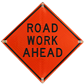 Full Selection of Road Work Ahead Signs