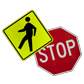 Choose from a Variety of Pedestrian Traffic Signs