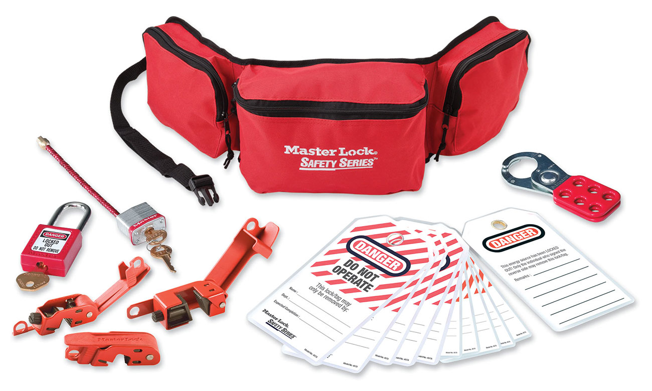 Master Lock Electrical Lockout Pouch Kit C3027-1456E410