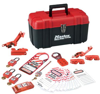 Master Lock Portable Personal Safety Lockout Kit 1457E410KA C3025