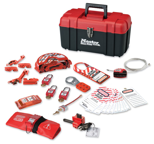 Master Lock Portable Personal Safety Lockout Kit C3026-1457VE410KA
