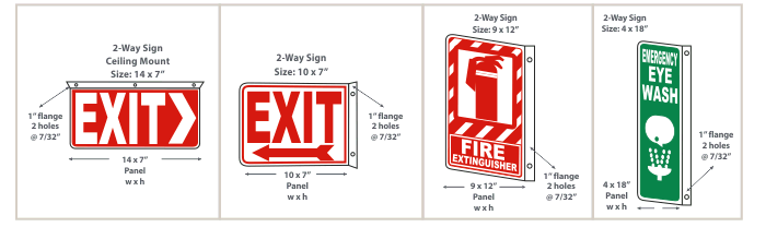 2-Way Signs Configuration