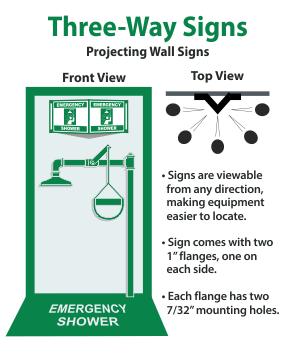 Three-Way Signs