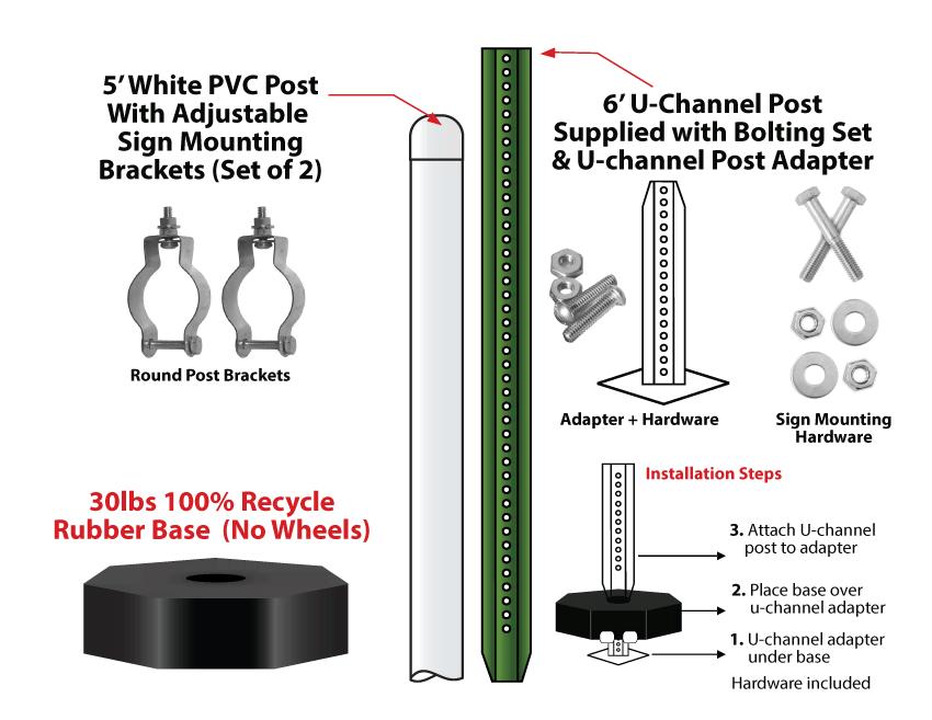 Sign Mounting Base