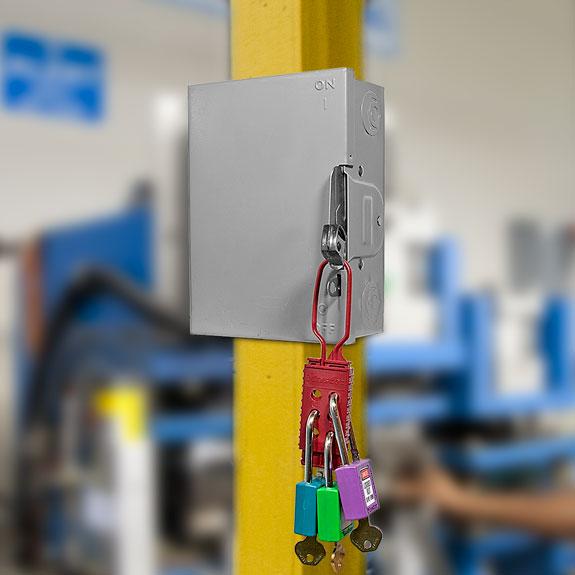 Plastic Lockout Hasp 428 C3504