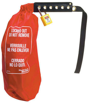 Master Lock Oversize Plug and Hoist Lockout Bag 453L C3108