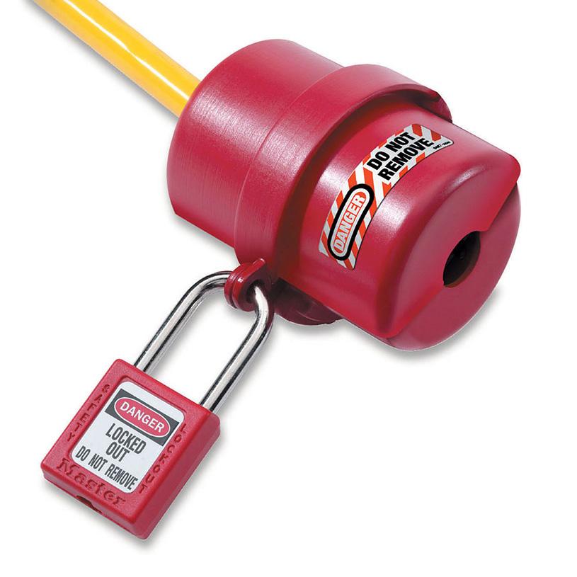 Master Lock Electrical Plug Lockout 487 C3104