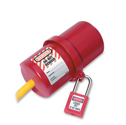 Master Lock Electrical Plug Lockout 488 C3105