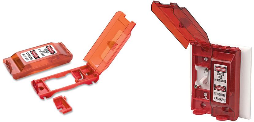 Master Lock Universal Wall Switch Lockout 496B C3107