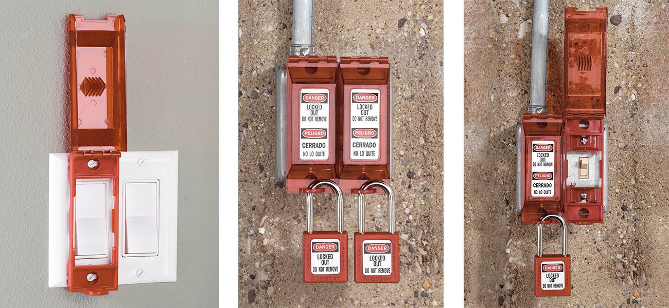 Universal Wall Switch Lockout Application