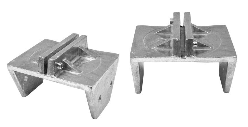 4x4 wood post 4 inch bracket
