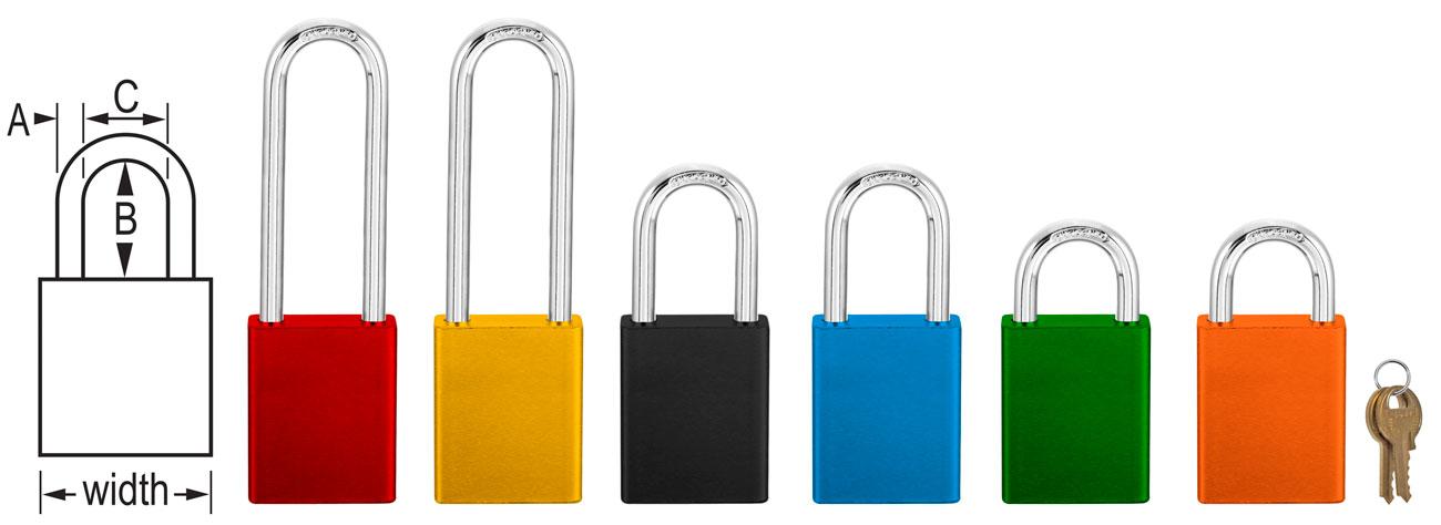 Master Lock Keyed Different 6835 series C3897