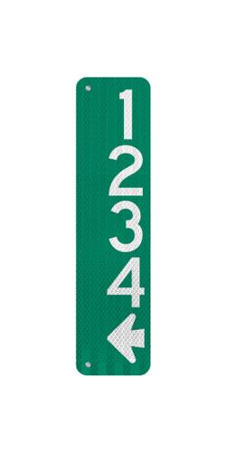 6 x 24 Sign with Arrow