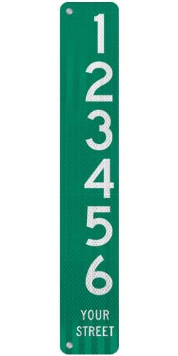 6 x 36 Sign with Arrow
