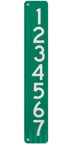 6 x 36 911 Address Sign