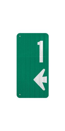 9 x 18 Sign with Arrow