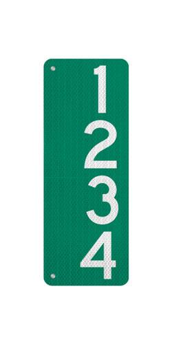 9 x 24 911 Address Sign