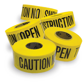 Brimar Yellow - Caution Barricade Tapes