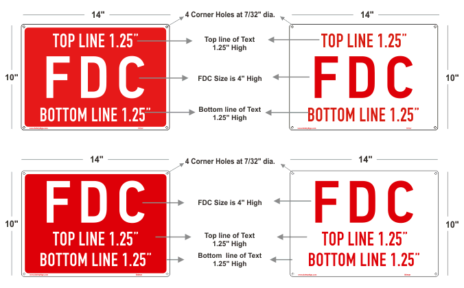 FDC Signs