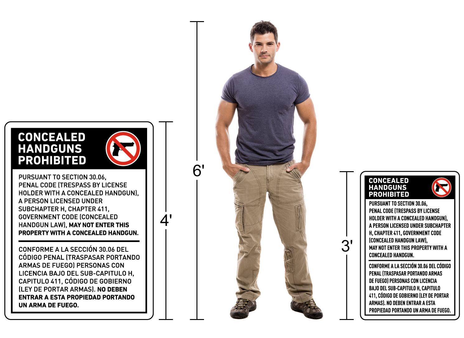 Sign Mounting Hardware Diagram