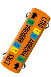 Illust. of Ammonia System 1 Strap On