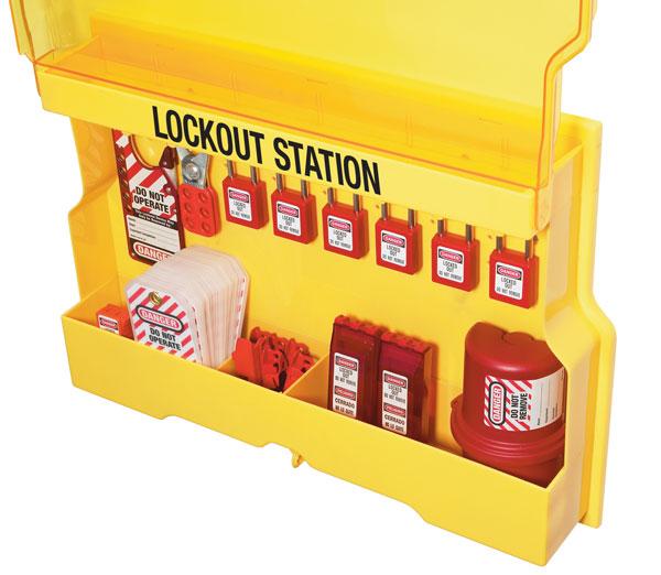 Lockout Station S1850E410 open