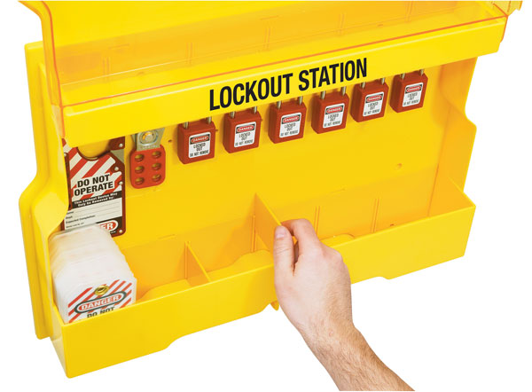 Lockout Station S1850E410 dividers