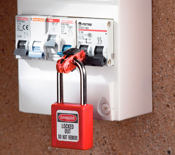 Miniature Pin Out Circuit Breaker Lockout Application