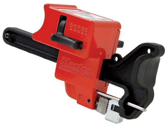 Master Lock Handle-On Ball Valve Lockout S3068 C3200