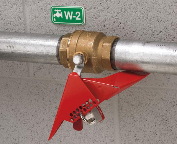 Master Lock Wedge Style 1/4 Turn Ball Valve Lockout S3477 C3204