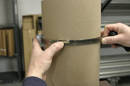 Larger Round Post Bracket