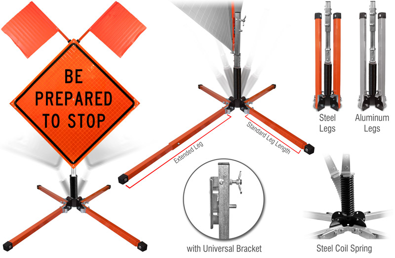 Single-Spring Stand
