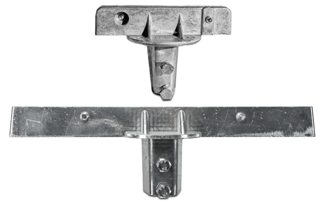 90 Degree U-Channel Post Bracket