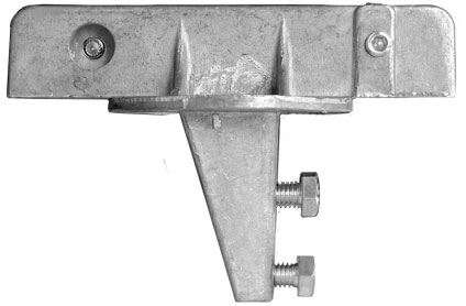 Image of the 5.5 inch street name sign bracket