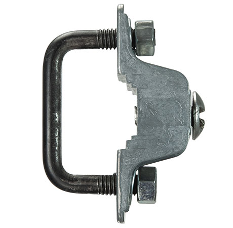 1 inch ornamental fence bracket for sign mounting