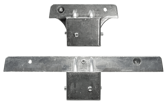 2″ and 1¾″ Square Post Bracket