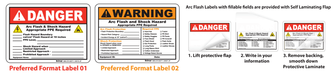 Safetysign.com Arc Flash Labels