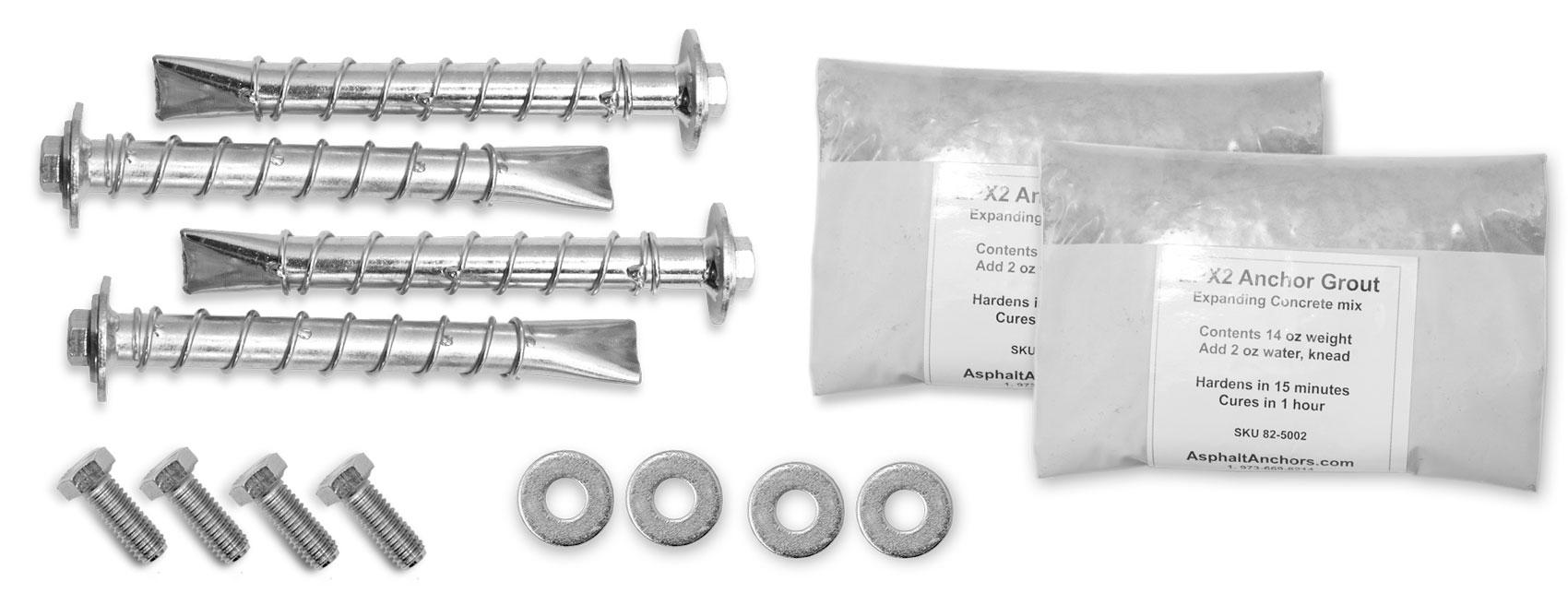 Asphalt Anchors Kit