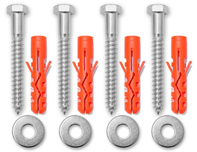 Concrete Anchors Kit by SafetySign.com