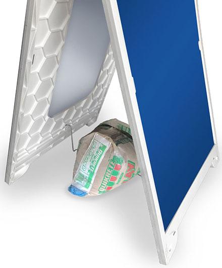 Lightweight Econo Frame Stabilizing Brace and Sand Bag